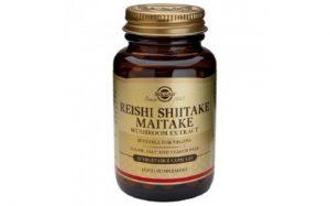 Reishi,shiitake, maitake