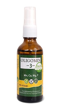 OLIGOMIN 3 SALES MINERALES SPRAY