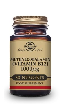 VITAMINA B12 1000 μg (Metilcobalamina) – 30 COMPRIMIDOS MASTICABLES