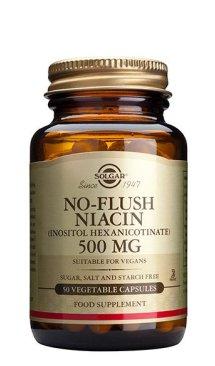NIACINA NO RUBORIZANTE 500 mg – 50 CAPSULAS