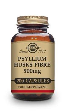 FIBRA DE CÁSCARA DE PSYLLIUM 500 mg – 200 CÁPSULAS VEGETALES