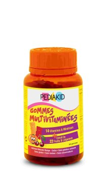 PEDIAKID® GOMINOLAS MULTI VITAMINAS 60 OSITOS MASTICABLES