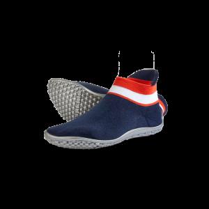 leguano sneaker blau, rot-weiber bund
